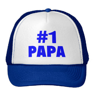 #1 Papa Mesh Hat