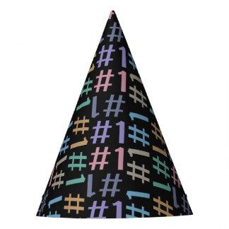 """# 1"" Pattern party hat"