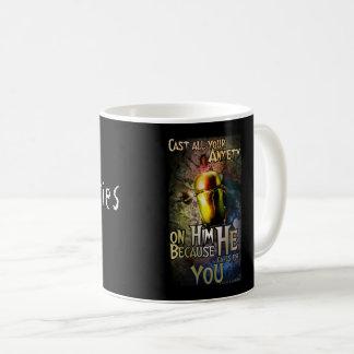 1 Peter 5:7 Coffee Mug