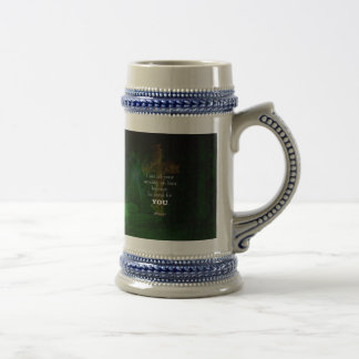 1 Peter 5:7 Uplifting Bible Verses Quote Beer Stein