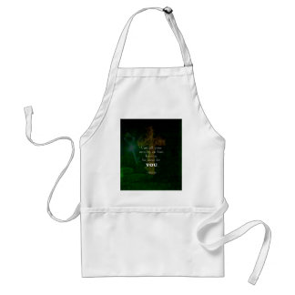 1 Peter 5:7 Uplifting Bible Verses Quote Standard Apron