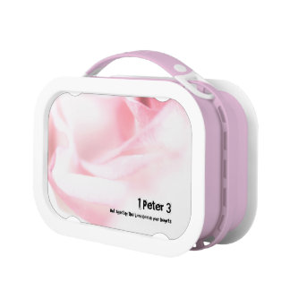 1 Peter chapter 3 But sanctify the Lord God Lunch Box