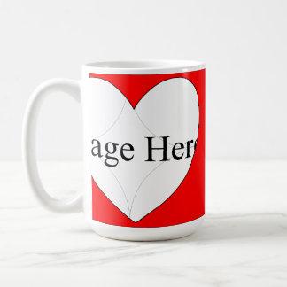 1 Photo Classic Hearts Mug 15oz