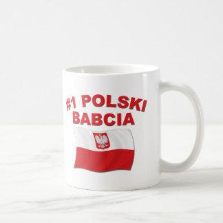 #1 Polski Babcia Coffee Mug
