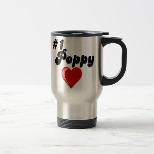 #1 Poppy - Celebrate Grandparent's Day Coffee Mug