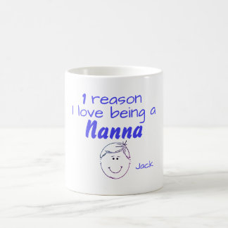 1 Reason I love being a Nanna - Boy Coffee Mug