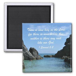 1 Samuel 2:2 Magnet