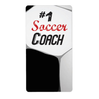 #1 Soccer Coach Large Ball