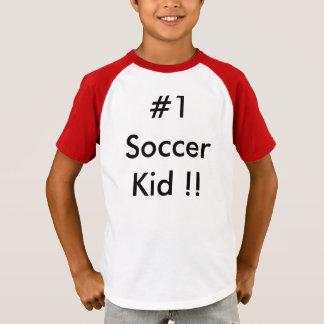 #1 Soccer Kid T-Shirt