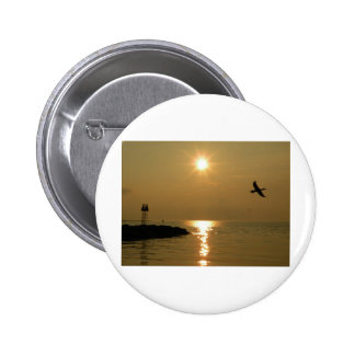 1 Sunset Menemsha Martha s Vineyard Pinback Button