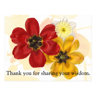 1 Thank you for sharing your wisdom Postcard