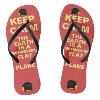 "(#1A,) FEPE ""KEEP CALM..."" (FLIPFLOPS) THONGS"
