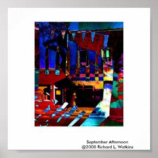 1avortex, September Afternoon@2008 Richard L. W... Poster