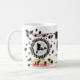 """(#1b) (FEPE) """"...NOW WHAT...?"""" FLAT EARTH (MUG) Coffee Mug"""