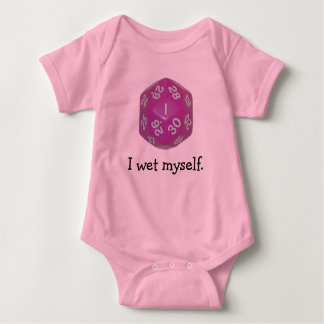 1d30 Girl Baby Bodysuit