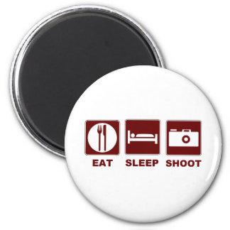 1eat sleepBlankSHOOT Magnet