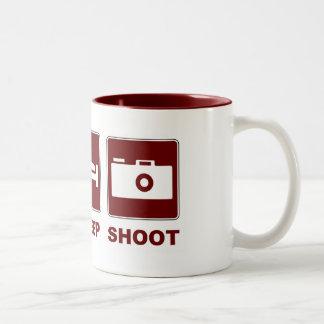 1eat sleepBlankSHOOT Mugs
