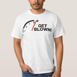 1g get blown white T-Shirt