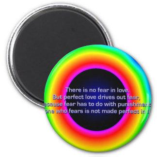 1john4-18.bmp 6 cm round magnet