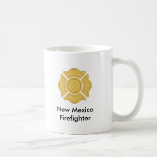 1LOGO11,      New Mexico     Firefighter Coffee Mug