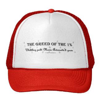 1PctGreedMarie Trucker Hats