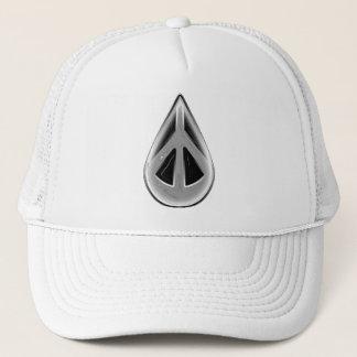 """1PEACE """"PEACEdrop 2012"""" Trucker Hat"""