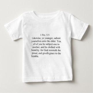 1Peter 5:5 Baby T-Shirt