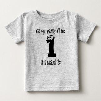 1's Birthday Baby T-Shirt