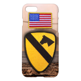 1st 7th cavalry air cav vets veterans fort hood iPhone 7 case