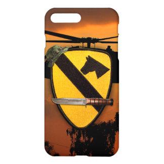 1st 7th cavalry airmobile air cav LRRP LURPS iPhone 8 Plus/7 Plus Case