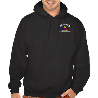 1st AD Veteran - College Style Hooded Sweatshirt