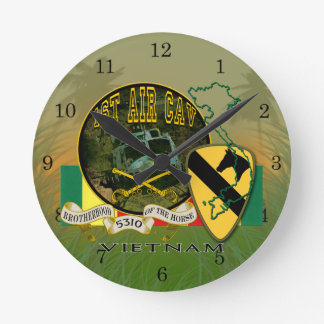 1st Air Cav - Vietnam Round Clock