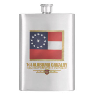 1st Alabama Cavalry Hip Flask