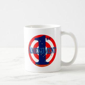 1st Amendment Basic White Mug