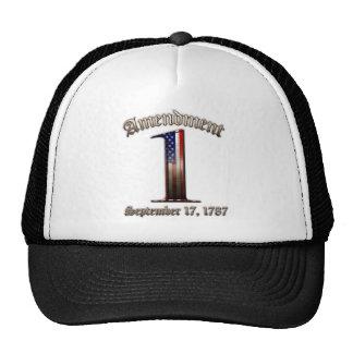 1st Amendment Trucker Hat
