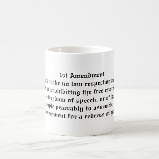 1st Amendment Coffee Mug