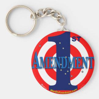 1st Amendment Key Chain