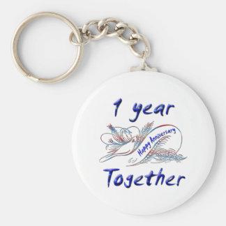 1st. Anniversary Keychains