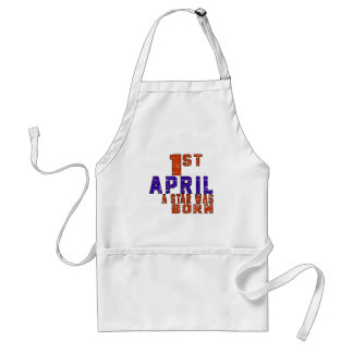 1st April a star was born Aprons