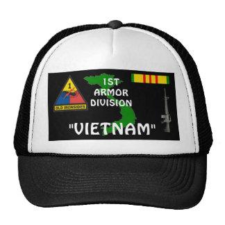 1st Armor Division Vietnam Veteran Ball Caps Hats