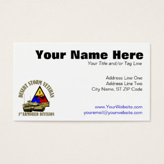 1st Armored Division [1st AD]