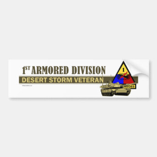 1st Armored Division [1st AD] Bumper Stickers