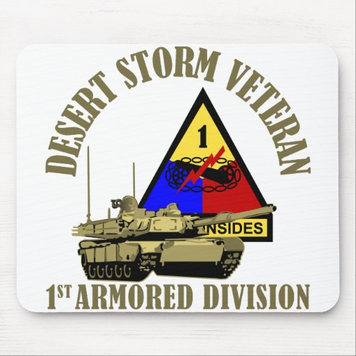 1st Armored Division [1st AD] Mousepads