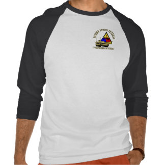 1st Armored Division [1st AD] T Shirts