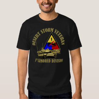 1st Armored Division [1st AD] Tshirts
