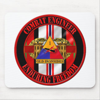 1st Armored Division Afghan Veteran Mouse Pad