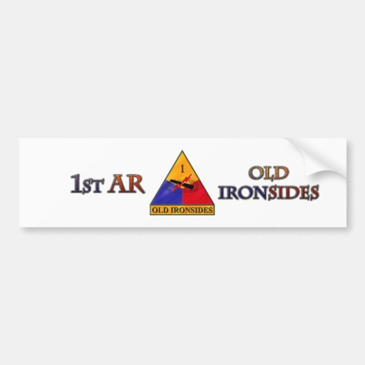 1st Armored Division Bumper Stickers