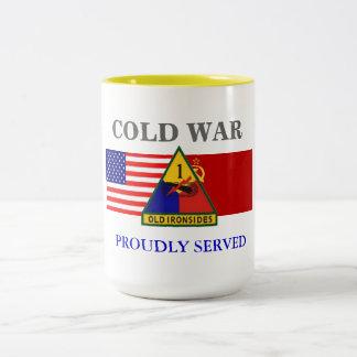 1ST ARMORED DIVISION COLD WAR MUG
