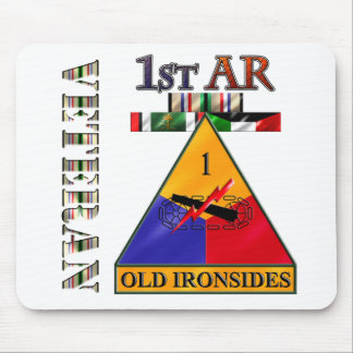 1st Armored Division Desert Storm Veteran Mouse Pad