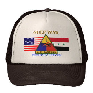 1ST ARMORED DIVISION GULF WAR HAT